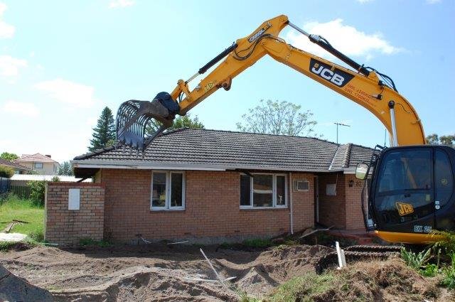 Residential Building Demolition Services Perth Capital